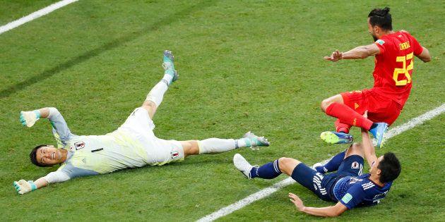 Coupe du monde: La Belgique élimine le Japon et rejoint le Brésil en