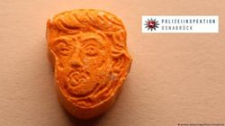 Des cachets d'ecstasy orange... à l'effigie de Donald