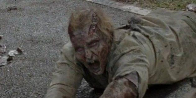 Les fans de «The Walking Dead» ont vu le zombie de Donald Trump dans l'épisode 3 de la saison