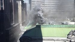 Un feu au Grand Central Station fait frissonner