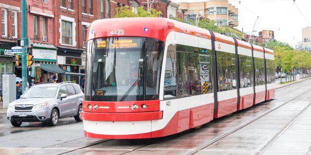 La société de transport en commun de Toronto avait commandé 204 tramways à