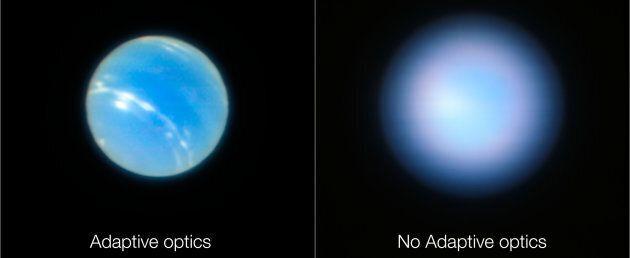Voici Neptune vue de la Terre (avec un très gros