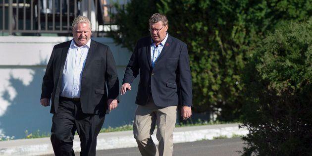 Le premier ministre de l'Ontario, Doug Ford, a trouvé un allié contre la tarification du carbone en Scott