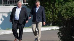 Tarification du carbone: Doug Ford et Scott Moe en campagne contre