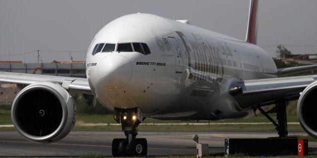 Un appareil Boeing 777-300ER du transporteur Emirates
