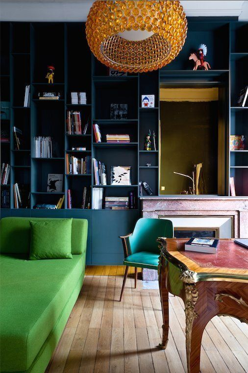 5 duos de couleurs pour rehausser l'apparence de votre salon