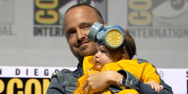 Quand Aaron Paul déguise sa fille de 5 mois en personnage de «Breaking Bad» pour le San Diego