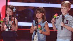 «La voix junior»: retour sur les premiers