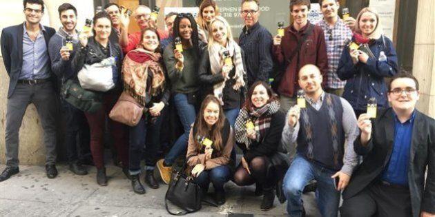 Des touristes politiques fébriles en ce jour d'élection présidentielle