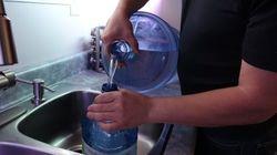 Vivre sans eau potable depuis près de cinq