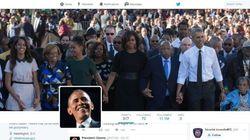 Cadeau d'Obama à son successeur: 11 millions d'abonnés