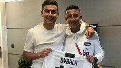 Rami allo stadio con Dybala: