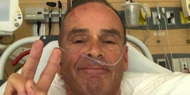 Louis Garneau victime d'un accident de