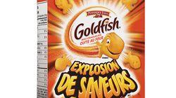 Un rappel de craquelins Goldfish possiblement
