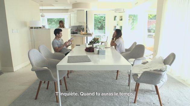 N'avez-vous pas envie de prendre votre petit déjeuner à cette table? (Dans Terrace House: Aloha