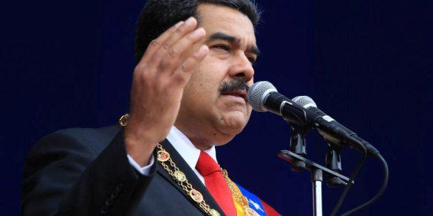 Le président vénézuélien sort indemne d'un attentat au