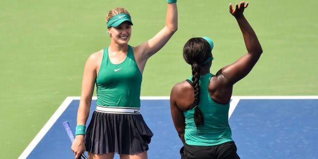 Eugenie Bouchard et Sloane Stephens surprennent leurs adversaires à la Coupe