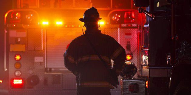 Incendie à l'usine de traitement des eaux de