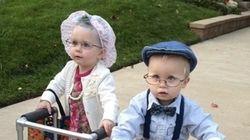 20 photos adorables et hilarantes de bambins déguisés en personnes