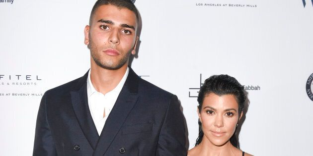 Younes Bendjima et Kourtney