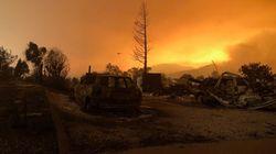 Des milliers d'évacués à cause d'un incendie en