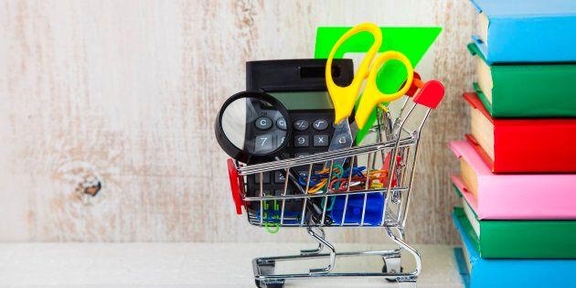 Rentrée scolaire: les parents magasinent tôt, pour réduire le