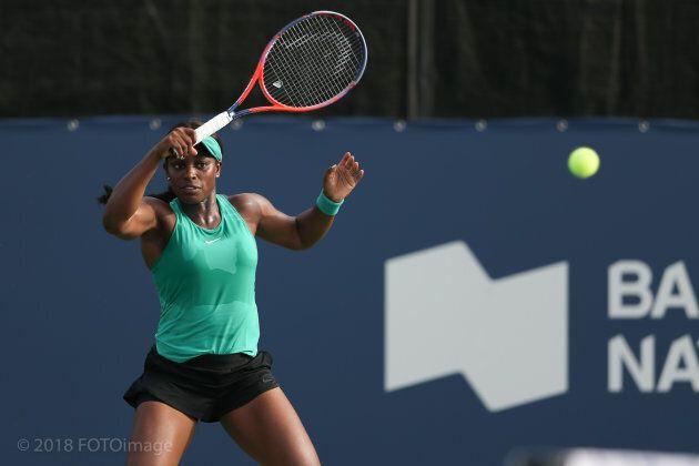 Sloane Stephens a également gagné son match en double avec Eugenie