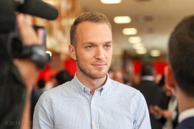 Stéphane Stril, président de la Commission-jeunesse, ne sait pas si les propositions de son aile jeunesse se retrouveront dans le programme électoral.