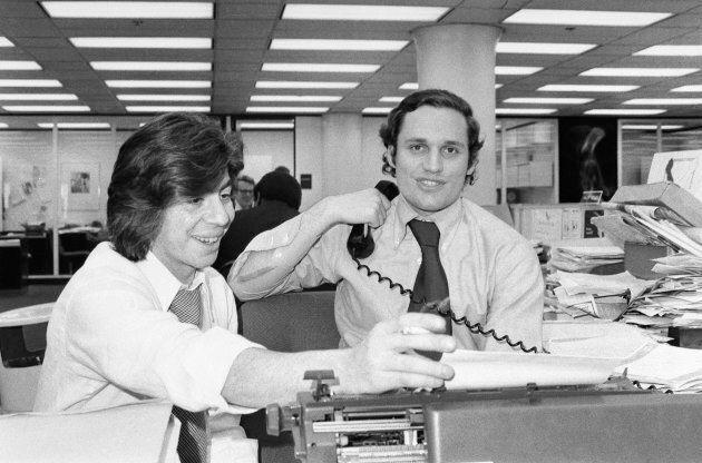Carl Bernstein (gauche) et Bob Woodward (droite) ont remporté un prix Pulitzer pour leur enquête sur