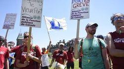 Fin de la grève au Vieux-Port de