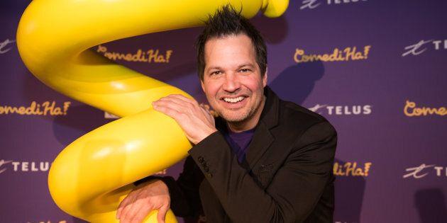 Sylvain Parent-Bédard a fondé le ComediHa! Fest, autrefois nommé le Grand Rire, en 2000.