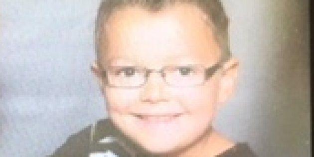 Zachary Bourgon, 7 ans, retrouvé sain et