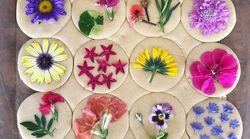 Cette pâtissière fait de ses gâteaux de vraies œuvres d'art grâce à des fleurs