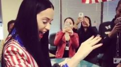 Katy Perry est allée voter dans une tenue très