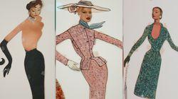 Quand le jeune Yves Saint Laurent dessinait des vêtements pour ses «paper