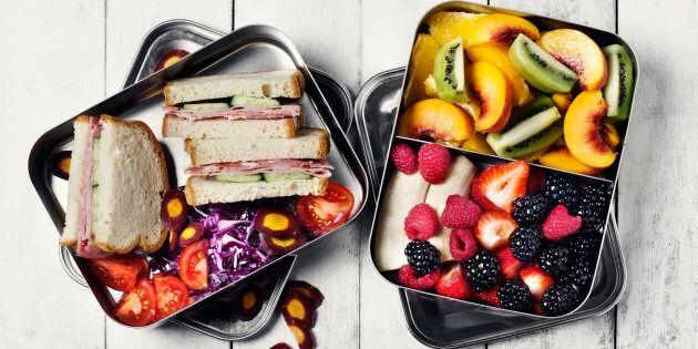 Ce que les nutritionnistes mettent dans leur boîte à