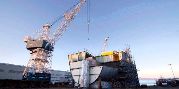 Chantier Davie est le plus imposant chantier maritime au Canada.