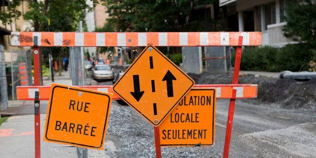 La nouvelle «escouade mobilité» de Montréal sévira... même contre les chantiers