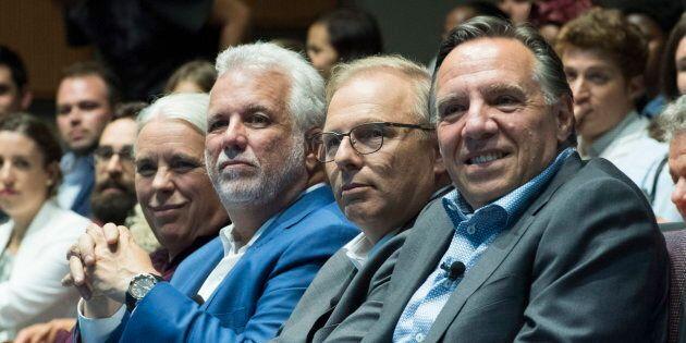 Les chefs des quatre principaux partis seront bien occupés au cours des 39 jours de campagne