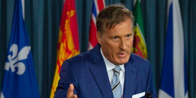 Maxime Bernier a tenu une conférence de presse à Ottawa jeudi pour annoncer qu'il fondera son propre parti politique.