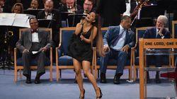 Aux funérailles d'Aretha Franklin, la prestation d'Ariana Grande a subjugué Bill