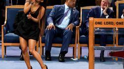 L'évêque des funérailles d'Aretha Franklin s'excuse auprès d'Ariana