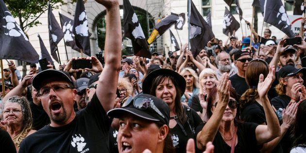 La Meute prépare une série de manifestations électorales le 25