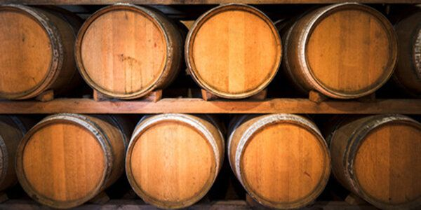 42812463 - barrels for wine