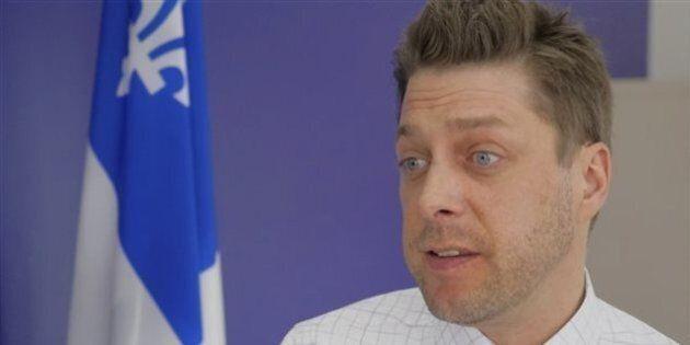 Martin Ouellet dénonce le manque d'information sur le remplissage du réservoir