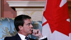Entretiens entre le premier ministre français et Justin