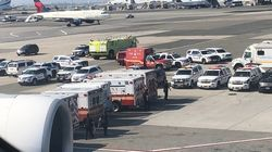 Un avion en quarantaine à l'aéroport de New