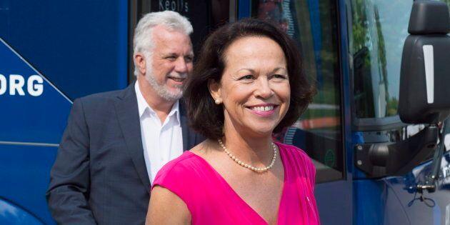 La candidate du PLQ Gertrude Bourdon ne sera pas d'un débat sur la