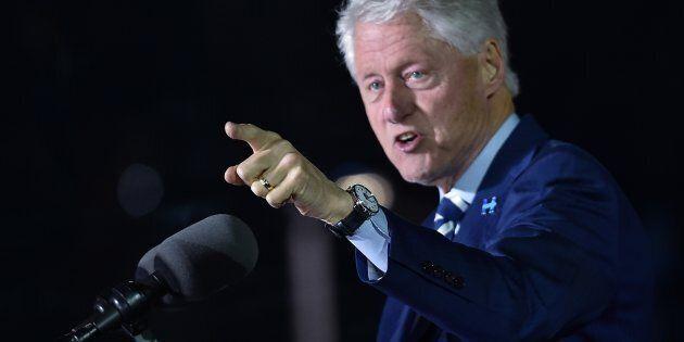 L'ex-président des États-Unis, Bill