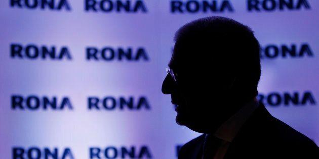 L'ex-président et directeur général de Rona Robert Dutton, avril